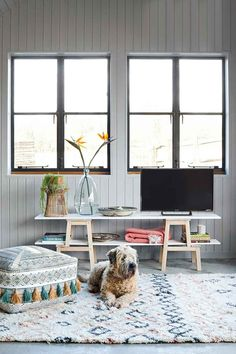 5 simple decorating Ikea hacks | Better Homes and Gardens Inexpensive Curtains, Metallic Gold Spray Paint, Large Cardboard Boxes, Cheap Chairs, Happy House, Wardrobe Doors, Rattan Basket, Better Homes And Gardens, Light Shades
