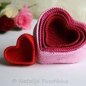 Are you looking for your next project? You will crochet 5 basket – love heart … - Easy Yarn Crafts Crochet Gifts, Cute Crochet, Yarn Projects, Crochet Projects, Easy Yarn Crafts, Knitting Patterns, Crochet Patterns, Crochet Basket Pattern, Crochet Baskets