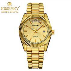 $35.98 (Buy here: https://alitems.com/g/1e8d114494ebda23ff8b16525dc3e8/?i=5&ulp=https%3A%2F%2Fwww.aliexpress.com%2Fitem%2FKINGSKY-Luxury-Women-Dress-Watches-Alloy-Business-Gold-Watch-Ladies-Calendar-Quartz-Wrist-Watch-Montre-Femme%2F32665335703.html ) KINGSKY Luxury Brand Gold Watch Women Fashion Dress Watches Ladies Calendar Quartz Wrist Watch Montre Femme Relogio Feminino for just $35.98