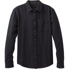 Prana Woodman Shirt ($79) ❤ liked on Polyvore featuring men's fashion, men's clothing, men's shirts, men's casual shirts, mens plaid shirts and mens tartan shirt