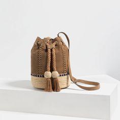 SACA PIEL CORDÓN - Zapatos y bolsos-MUJER-ÚLTIMA SEMANA | ZARA Colombia