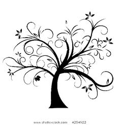 line art drawings of trees | ... guys to put words up! How awesome will it be to put together a tree