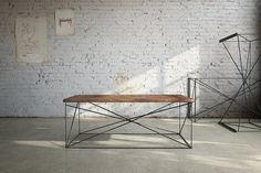 love this modern looking coffee table!