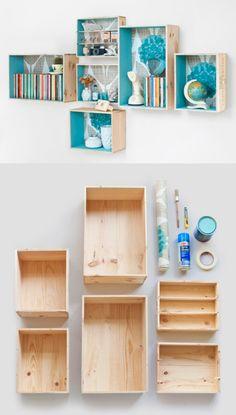 Cajas recicladas