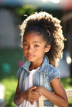 Yara Shahidi....She has a look of another life lived in those eyes.