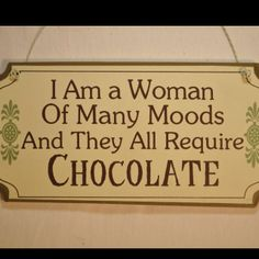 chocolate therapy bahahaahah! must have this at my house