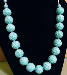 Vintage Blue Necklace