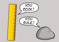 You rock! You rule! #teamwork