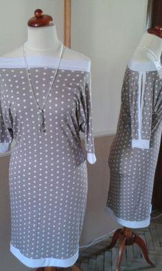 Dots Cold Shoulder Dress, Dots, Dresses, Fashion, Gowns, Moda, La Mode, The Dot, Dress
