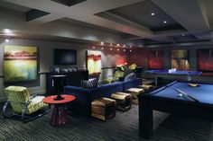 Cool Mens Game Room Home Lounge Ideas
