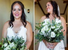 Gorgeous bride makeup and hair in Cabo Destination Wedding. In love with the style and bouquet!