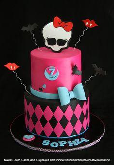 Monster High Cake 2013