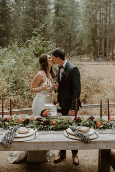 National Park elopement picnic perfect for two | Image by Wesley Harden Centerpieces, Table Decorations, Boho Diy, Elopement Inspiration, Seating Charts, Wedding Blog, Picnic, National Parks, Groom