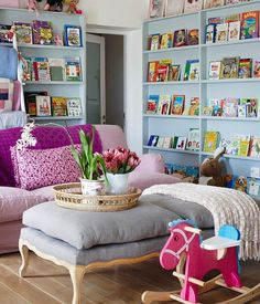 5 Stylish Playrooms that look amazing and hide the clutter!