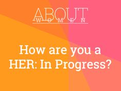 Question of the day... #ABOUTWOMEN #HERINProgress #continue  Please join the judgment-free convHERsation... https://www.facebook.com/groups/NikkiNiglABOUTWOMEN/