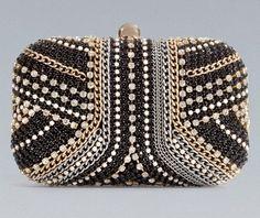 Zara clutch.