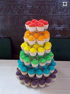 Birthday Cupcakes Rainbow Kids 45 Ideas For 2019 Trolls Birthday Party, Rainbow Birthday Party, Rainbow Wedding, Unicorn Birthday Parties, Baby Birthday, Birthday Ideas, Birthday Gifts, Cupcake Rainbow, Rainbow Food