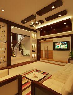 Living Room Partition Design, Ceiling Design Living Room, Bedroom False Ceiling Design, Room Design Bedroom, Bedroom Furniture Design, Home Room Design, Modern Small House Design, Duplex House Design, Apartment Interior