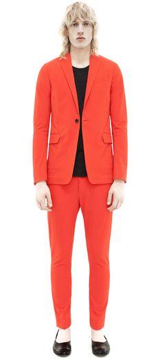 Acne Studios Brady Cotton Spicy Orange in Orange for Men | Lyst