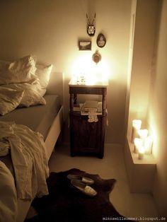 gute nacht i mariechens nachtschrank i geliebtes erbstck i schlafzimmer i spitze i handarbeit - Schlafzimmer Kerzen