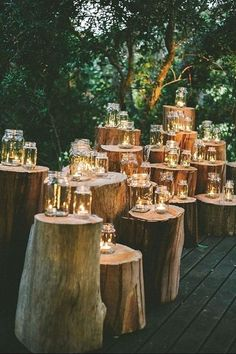 Romantic Enchanted Forest Wedding Ideas: Create The Dream! Filled with greenery, lights, moss and so romantic, let's delve into the magical world of woodland enchanted forest wedding ideas. SEE DETAILS. Outdoor Wedding Decorations, Wedding Themes, Outdoor Weddings, Rustic Weddings, Wedding Colours, Wedding Rustic, Romantic Weddings, Unique Weddings, Decor Wedding