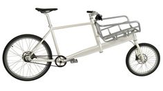 Cargo bike designed for urban commuters.