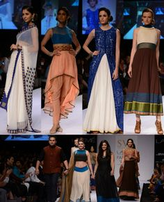 LAKME FASHION WEEK Winter/Festive 2013 DAY 5 SVA BY SONAM AND PARAS MODI Shop the collection straight off the runway at http://www.perniaspopupshop.com/lakme-fashion-week/sva-by-sonam-paras-modi #fashionweek