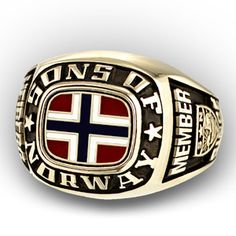 Sons of Norway member ring