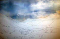 Ken Bromley Art Supplies - Step-by-step Tutorial Using Winsor & Newton Desert Colours