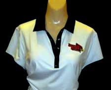 This Nike contrast collar polo comes with the Illinois State logo, in either black or white. A full selection of Redbird merchandise is available in Weibring's fully stocked pro shop and through its online store. http://www.isugolf.com/golf/ecom_v2/ecom.php?cat=1207_id=30255