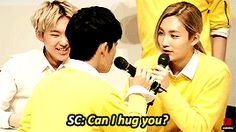 """seventeen, so cute! And there is hoshi who's like, """"ok it's awkward..., get a room guys.."""" x)"""