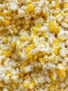 Corn Dishes, Vegetable Side Dishes, Best Thanksgiving Side Dishes, Thanksgiving Recipes, Side Dish Recipes, Vegetable Recipes, Best Corn Recipe, Cream Cheese Corn, Sweet Cream Corn
