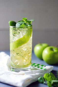 Apple Mojito by Sam Henderson of Today's Nest