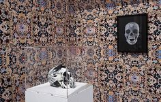 Damien Hirst wallpaper print
