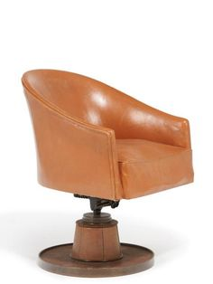 Bid online, view images and see past prices for Art Déco. Invaluable is the world's largest marketplace of items at auction, live and online! Modernist Movement, Link Art, Beautiful Interiors, Tub Chair, Circa, Accent Chairs, Armchairs, Steel, Furnitures