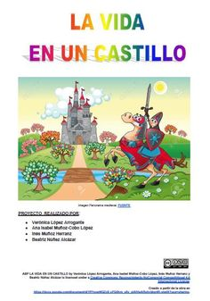 Proyecto destacado del taller 3.2 Verona, Comic Books, Comics, Cover, Movie Posters, Project Based Learning, Highlights, Castles, Atelier