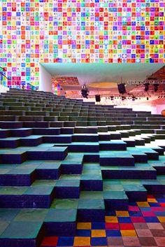 Detail of the Republic of Korea Pavilion at the Shanghai Expo 2010 by Wojtek Gurak