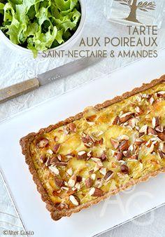 Une tarte aussi jolie que délicieuse, avec une garniture fondante, goûteuse et un peu croquante. Une belle façon de profiter des poireaux d'hiver.