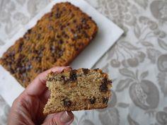 Chocolate Chip Banana Bread (paleo, GF) | Perchance to Cook