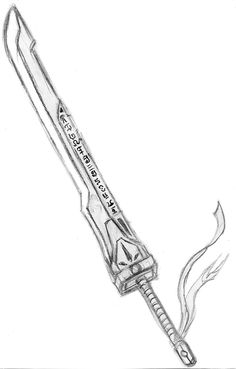 Drawn anime sword - pin to your gallery. Explore what was found for the drawn anime sword Ninja Weapons, Anime Weapons, Big Sword, Anime Drawings Sketches, Sword Drawings, Drawing Swords, Easy Drawings, Pencil Drawings, Anime Sword