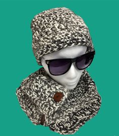 Skull Caps I Love My Beagle Winter Warm Knit Hats Stretchy Cuff Beanie Hat Black