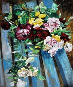 Giovanni Boldini, Still Life with roses