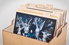 Vinyl Separators by AtelierDmontreal on Etsy