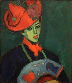 [Alternative Muses] Shopping Guide: Schokko with a Red Hat by Alexej Jawlensky, 1909