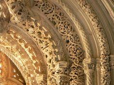 manueline gothic Gothic Architecture, Architecture Details, Sculpture, Moorish, Middle Ages, Art History, Portugal, Painting, Nature