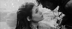 Mermaid In Love, Mermaid Cove, Mermaid Art, Love Romance Kiss, Astrid Berges Frisbey, High Clouds, Gifs, Water Nymphs, Movie Facts