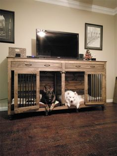 32 Rustic Indoor Dog Houses Design Ideas For Small Dogs To Have - Most people think of outdoor dog houses when they thing of a dog house. However, there are also indoor dog houses. Which are perfect if you want to ke.