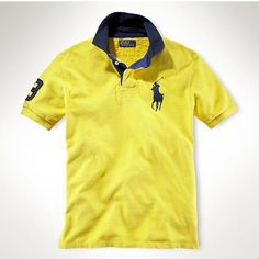 Ralph Lauren Big Pony Polo Yellow