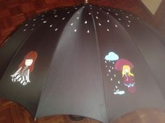 paraguas decorado