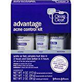Clean & Clear Advantage Acne Control Kit - http://www.acnemov.com/clean-clear-advantage-acne-control-kit/
